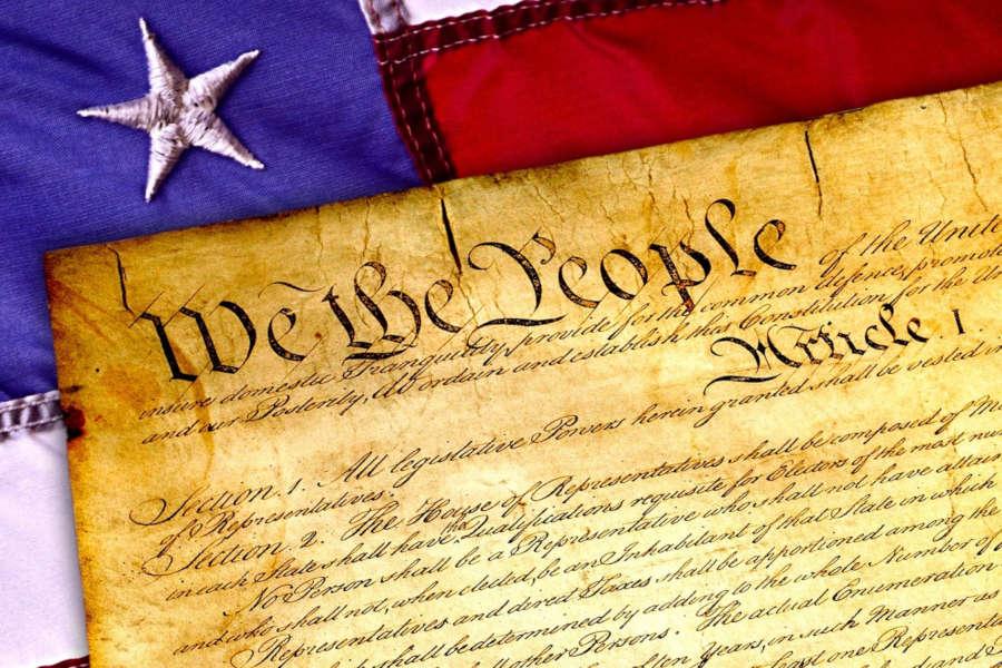 La constitution des Etats-Unis